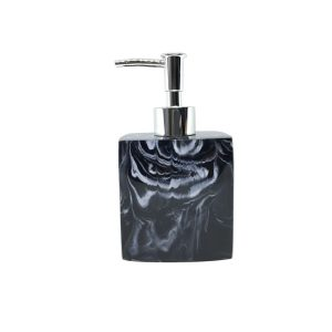 Jena Black Marbled Soap Dispenser