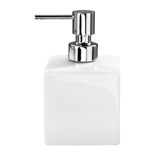 Pura White Ceramic Soap Dispenser