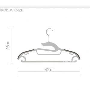 Teus Plastic Clothes Hanger Dimensions