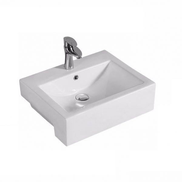 520375 Semi-Recessed Basin
