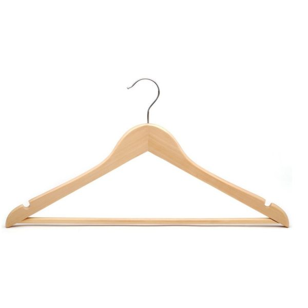 Kris Varnished Premium Wood Clothes Hanger