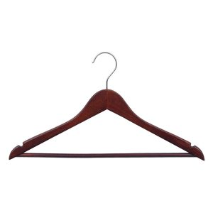 Mika Varnished Wood Clothes Hanger
