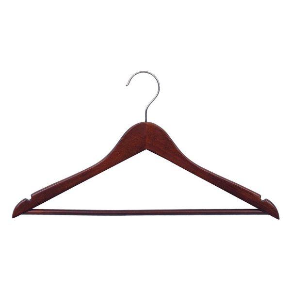 Mika Varnished Wood Clothes Hanger