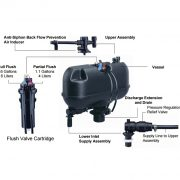 OP 162012 Toilet Bowl Pump