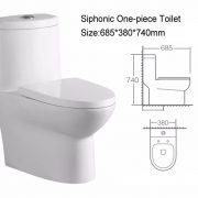 OP 162074 Toilet Bowl Specs