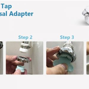Xeltro CT22 Thread-less Tap Installation