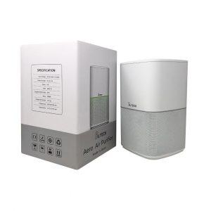 Aero air purifier product & packaging